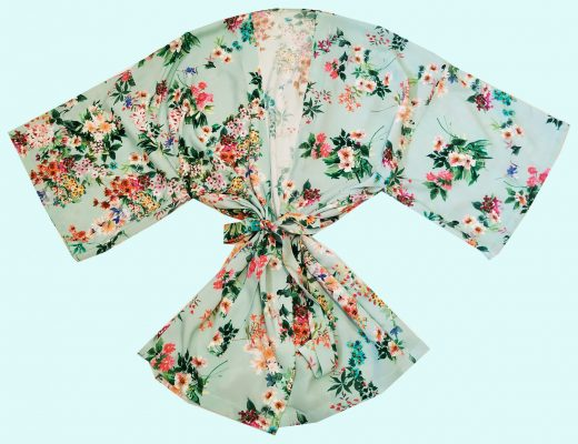 Kimono de novia Begoña
